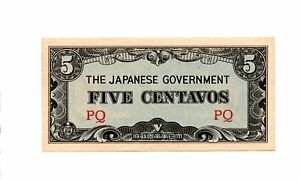 Click now to see the BUY IT NOW Price! PHILIPPINES   JAPAN 5 CENTAVOS ND 1942  JAPANESE INVASION MONEY P 103A BLOCK PQ