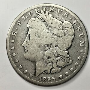 Click now to see the BUY IT NOW Price! 1895 O MORGAN DOLLAR $1 NEW ORLEANS MINT SILVER $1 NICE