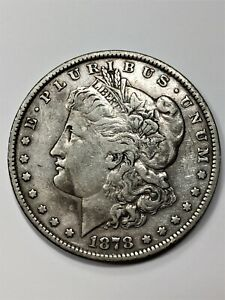 Click now to see the BUY IT NOW Price! 1878 MORGAN DOLLAR 7 TAIL FEATHERS   REV OF 79 SILVER $1 XF