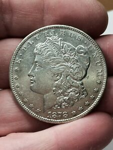 Click now to see the BUY IT NOW Price! 1878 MORGAN DOLLAR 7/8 TAIL FEATHERS SILVER $1 XF