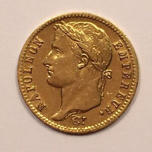 Click now to see the BUY IT NOW Price! 1813 FRANCE 20 FRANCS GOLD COIN NAPOLEON BONAPARTE FRENCH EMPIRE GOLD