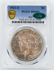 Click now to see the BUY IT NOW Price! 1923 S PEACE $1 PCGS MS 65