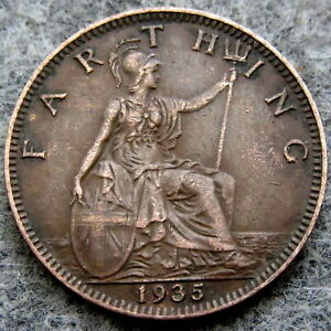 GREAT BRITAIN GEORGE V 1935 FARTHING