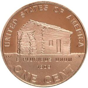 2009 S LINCOLN LOG CABIN EARLY CHILDHOOD CENT 1 PROOF PENNY