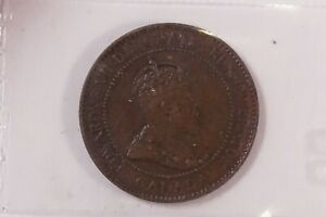 CANADA 1904 BROWN LARGE CENT COIN GRADED BY CCCS     MON 100