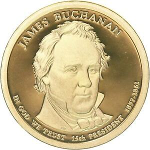 2010 S PRESIDENTIAL DOLLAR JAMES BUCHANAN GEM DEEP CAMEO PROOF