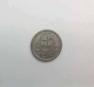 Click now to see the BUY IT NOW Price! 1923 DANZIG 1/2 GULDEN SILVER SHARP  ORIGINAL SURFACES  NOT CLEANED SOME MARKS
