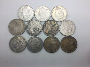 Click now to see the BUY IT NOW Price! 1879   1921S MORGAN SILVER DOLLARS LOT 11 CULL AND BETTER SEE PIX DECENT LOT