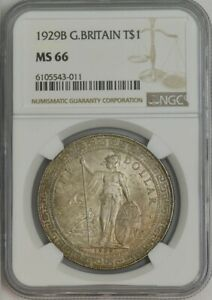 Click now to see the BUY IT NOW Price! 1929B GREAT BRITAIN TRADE DOLLAR $ MS66 NGC 943496 20