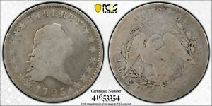 1795 FLOWING HAIR HALF DOLLAR PCGS GOLD SHIELD G 04  2 YEAR TYPE COIN