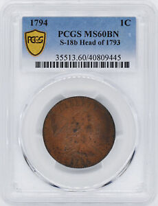 Click now to see the BUY IT NOW Price! 1794 LIBERTY CAP 1C PCGS MS 60 BN