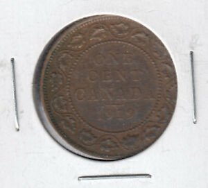 1919 KING GEORGE V 1 LARGE PENNY IN