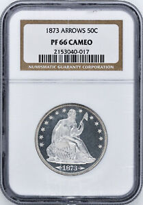 Click now to see the BUY IT NOW Price! 1873 LIBERTY SEATED 50C NGC PR 66 CAM
