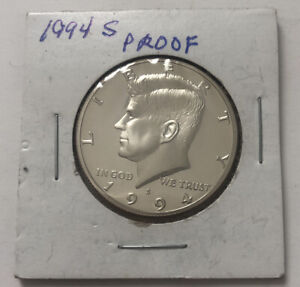 1994 PRESIDENT KENNEDY S HALF DOLLAR SILVER PROOF UNCIRCULATED UNITED STATES