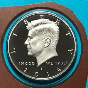 2014 S KENNEDY PROOF HALF DOLLAR FROM US MINT SET
