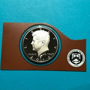 2016 S KENNEDY PROOF HALF DOLLAR CLAD FROM MINT SET