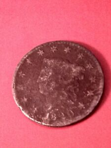 1820 LARGE ONE CENT US