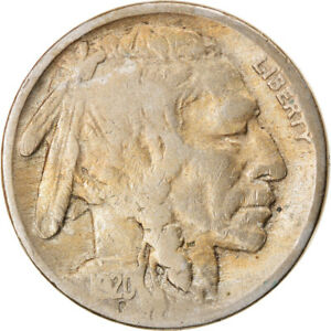 [834752] COIN UNITED STATES BUFFALO NICKEL 5 CENTS 1920 U.S. MINT