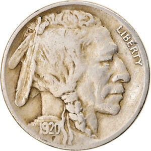 [834748] COIN UNITED STATES BUFFALO NICKEL 5 CENTS 1920 U.S. MINT
