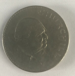 1965 CROWN COIN TO COMMEMORATE THE DEATH OF SIR WINSTON CHURCHILL IMMAC COND