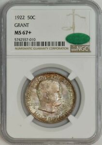 Click now to see the BUY IT NOW Price! 1922 GRANT HALF 50C MS67  NGC CAC 943161 11