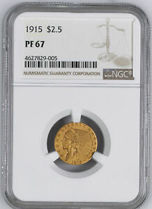 Click now to see the BUY IT NOW Price! 1915 INDIAN $2.5 NGC PR 67