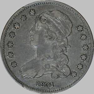1831 CLASSIC HEAD QUARTER REDUCED SIZE SMALL LETTERS B 4 R 1 PCGS VF35