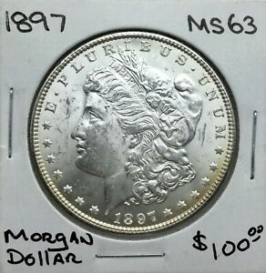 Click now to see the BUY IT NOW Price! 1897 P MORGAN SILVER DOLLAR NICE MINT STATE COIN STRONG SATINY LUSTRE