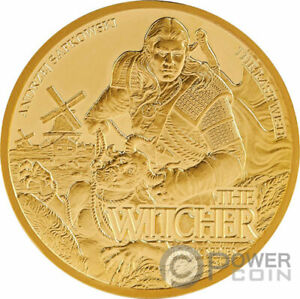 Click now to see the BUY IT NOW Price! LAST WISH THE WITCHER BOOK 1 OZ GOLD COIN 50$ NIUE 2021