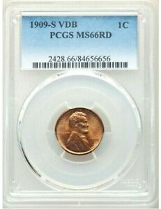 Click now to see the BUY IT NOW Price! 1909 S VDB   PCGS MS66 RD RED   LINCOLN WHEAT CENT $11 000    ONLY 15 HIGHER