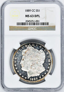 Click now to see the BUY IT NOW Price! 1889 CC MORGAN S$1 NGC MS 63 DMPL