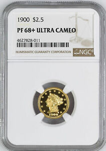 Click now to see the BUY IT NOW Price! 1900 LIBERTY HEAD $2.5 NGC PR 68  DCAM