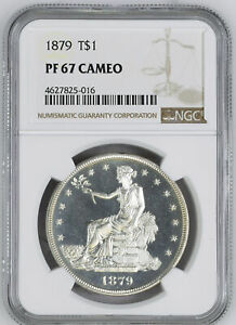 Click now to see the BUY IT NOW Price! 1879 TRADE T$1 NGC PR 67 CAM