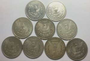 Click now to see the BUY IT NOW Price! 1921 DENVER MORGANS GROUP OF 9 MIXED SILVER DOLLARS SOME NICER  GRADE COINS