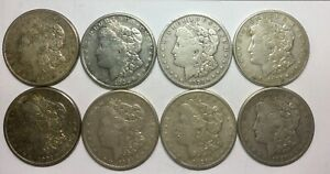 Click now to see the BUY IT NOW Price! 1921 S SAN FRANCISCO  LOT OF 8 MIXED SILVER DOLLARS SOME NICER  GRADE COINS