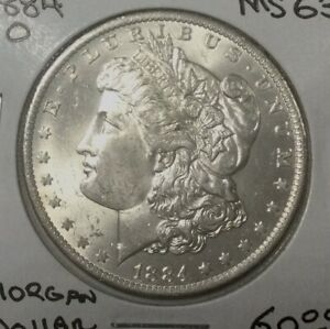 Click now to see the BUY IT NOW Price! 1884O  NEW ORLEANS   MORGAN DOLLAR NICE BU FROM ORIGINAL MINT STATE ROLL