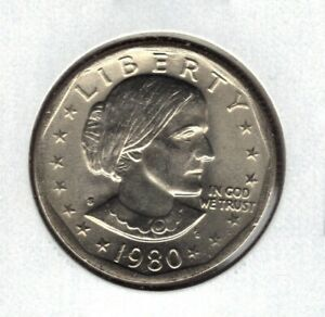 1980 S UNCIRCULATED  SUSAN B ANTHONY DOLLAR