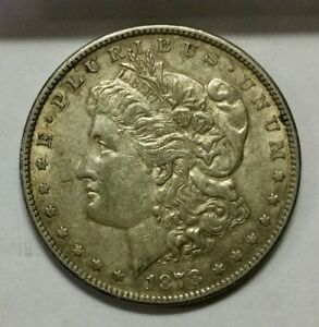 Click now to see the BUY IT NOW Price! 1878S  MORGAN DOLLAR  SEMI KEY DATE SHARP DEVICES SOME LUSTRE ORIGINAL COIN