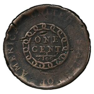 1793 CHAIN CENT 1C BEAUTIFUL COIN