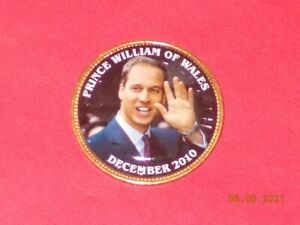 BRITISH LARGE PENNY WILLIAM & KATE   PRINCE WILLIAM OF WALES