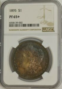 Click now to see the BUY IT NOW Price! 1895 MORGAN SILVER DOLLAR $ PF65  PR65  NGC 944558 1