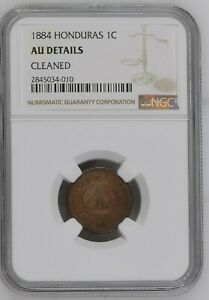 Click now to see the BUY IT NOW Price! HONDURAS 1884 1 CENTAVO CERTIFIED NGC  AU DETAILS KM 46