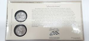 PUERTO RICO 2009 P&D TERRITORIES QUARTER SET IN ORIG. US MINT COIN COVER W/STAMP