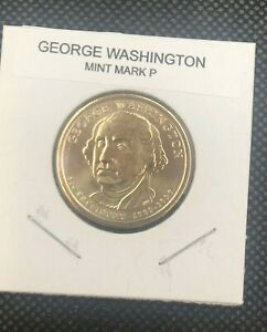 2007 P GEORGE WASHINGTON PRESIDENTIAL DOLLAR FROM UNCIRCULATED MINT ROLL