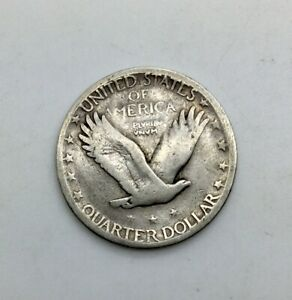 Click now to see the BUY IT NOW Price! 1927S SAN FRANCISCO  STANDING LIBERTY QUARTER 25 CENTS LOWER GRADE COIN