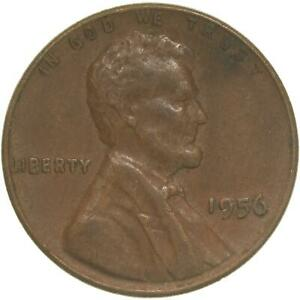 1956 LINCOLN WHEAT CENT EXTRA FINE PENNY XF