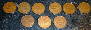 Click now to see the BUY IT NOW Price! KEY DATES 1921 1922 1922 1924 1925 1926  1932  1933 1935  CANADA PENNIES
