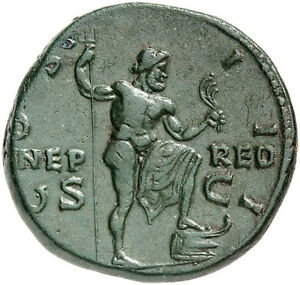 Click now to see the BUY IT NOW Price! HADRIAN 125AD NEPTUNE AUTHENTIC ANCIENT ROMAN COIN NGC CERTIFIED CHVF FINE STYLE