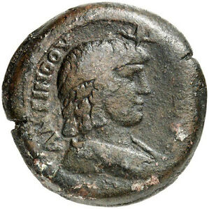 Click now to see the BUY IT NOW Price! HADRIAN'S LOVER ANTINOUS 134 AD NGC CERTIFIED VF  ALEXANDRIA ANCIENT ROMAN COIN