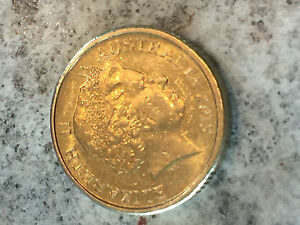2013  AUSTRALIAN $2 ERROR OFF SET DIE COIN  YOU JUDGE FOR YOUR SELF .. 0535
